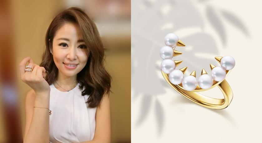 沒想到珍珠可以這麼「兇」!林心如、小 S 狂愛牙齒首飾推新作