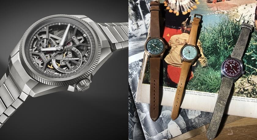 這只腕錶比看起來「輕」更多!鈦合金設計連機芯都完全透視了