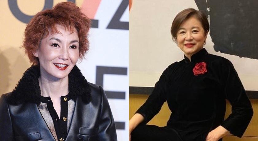 網曝林青霞、張曼玉30年前合照!她穿「深V到肚臍」狂秀事業線