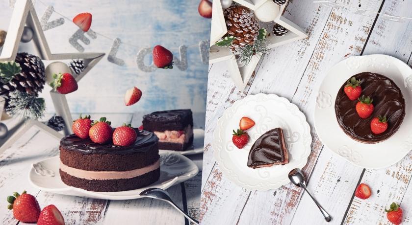 狂銷3000顆的夢幻蛋糕回歸!BAC「黑嘉侖草莓巧克力蛋糕」又來啦