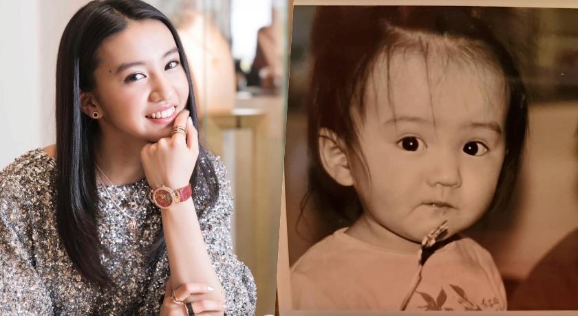 木村光希公開童年父女合照!「嘟嘴親親」網嗨翻:男神太可愛