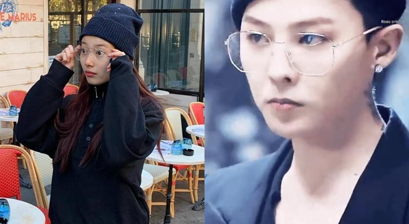 全韓國都在瘋這款「金絲眼鏡」!GD、秀智連私服造型都要戴