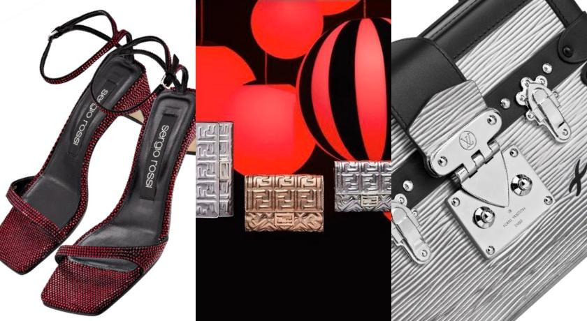 LV、Fendi、Saint Laurent全在瘋耶誕「放閃」鞋包!絕美金屬光澤錯過捶心肝