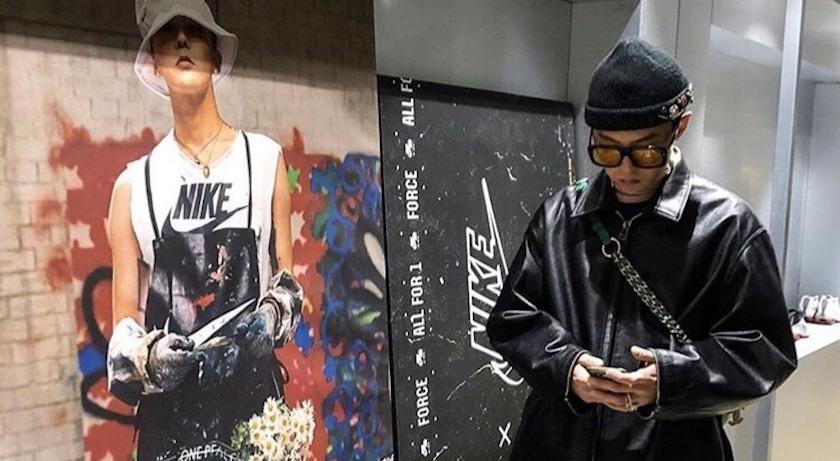 不只有鞋帶反著綁!G-Dragon親自曬限量鞋還有「這個小細節」!