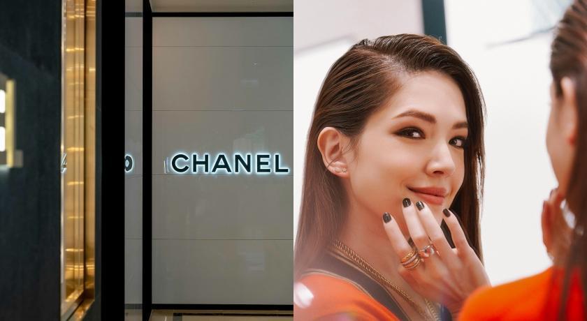 Chanel歡慶專門店重新開幕!許瑋甯穿這樣大喊「好緊張」