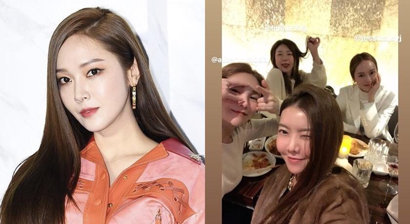 韓女神潔西卡與友同框慘變「大型撞臉現場」!網:全都長一樣