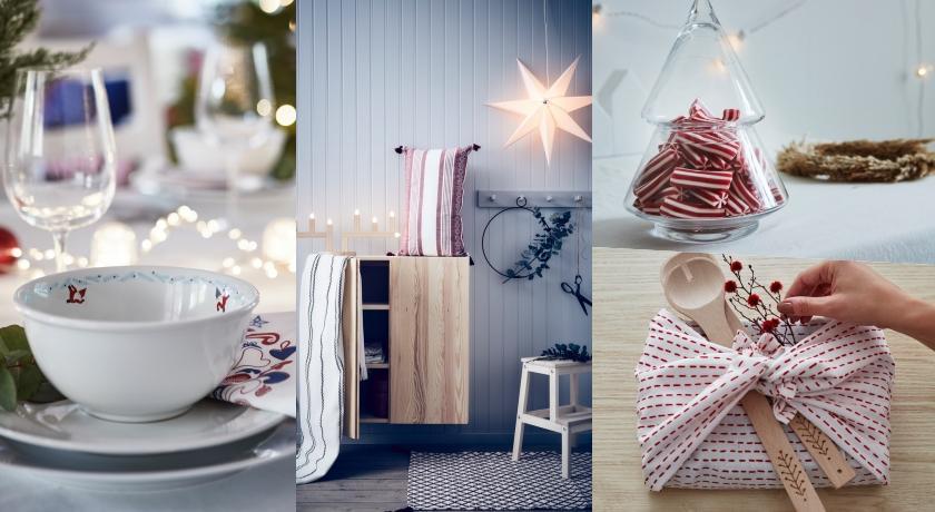 不必花大錢也能營造耶誕氣氛!IKEA推出「北歐風耶誕新品」通通百元入手