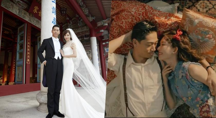 林志玲夫婦婚禮後再放閃!「依偎AKIRA懷中」一分鐘影片甜炸