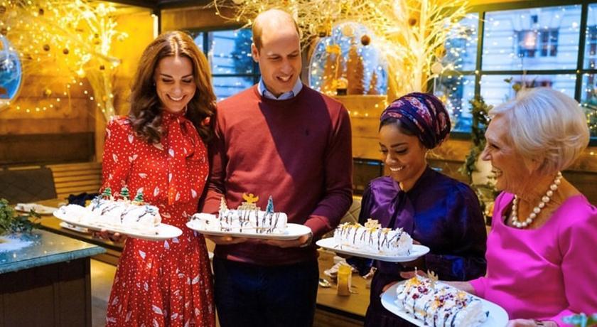 凱特王妃連進廚房都這麼美!英皇室IG公開「下廚穿搭」網讚爆