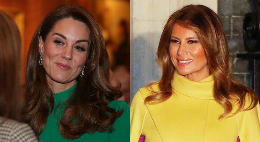 凱特王妃、川普老婆飄時尚火藥味!她大膽穿「地雷色」全場驚豔