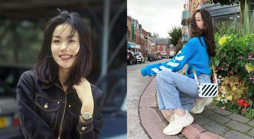 簡直是迷你版王菲!13 歲李嫣濃妝照網友驚:遺傳了媽媽的高冷...