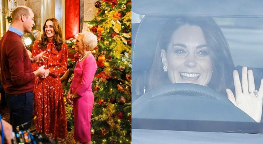 凱特王妃耶誕造型又被讚爆!皇室賀卡一家五口同框畫面萌翻了