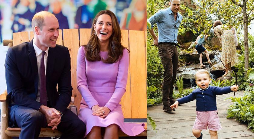 英國皇室路易小王子牙牙學語,竟偷偷曝光父母「私密情趣」!