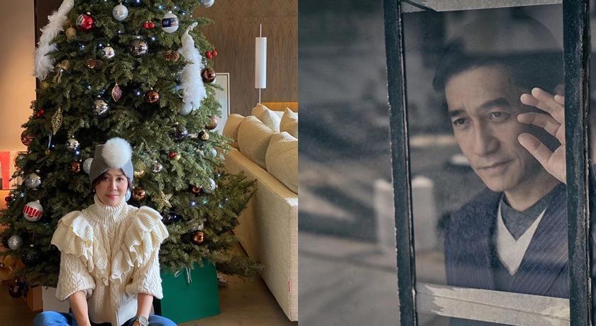 梁朝偉罕見曬劉嘉玲「老公視角」美照賀耶誕!加碼5年前夫妻同框秀甜蜜