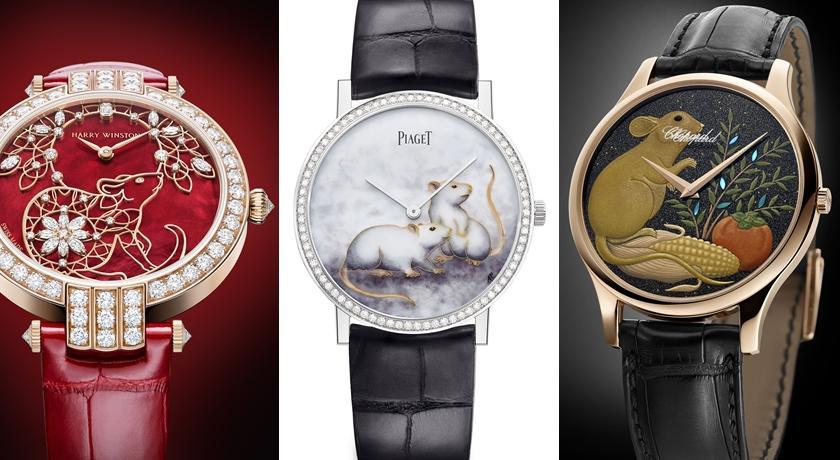 女子錶》手錶上的小老鼠好像在吱吱叫!蓬鬆皮毛讓人想摸一下