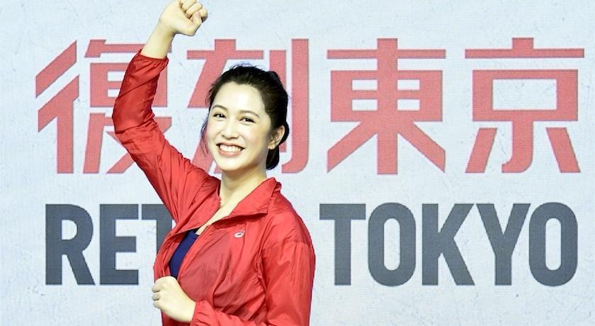 劉奕兒秀迴旋踢過招跆拳道國手!復古東京上身超有型