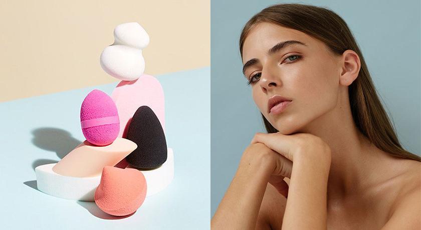 原來「美妝蛋」都用錯方式了?這幾招讓底妝如磁鐵般服貼!