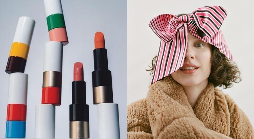 「愛馬仕唇膏」來了!靈感來自7萬條絲巾花色,管身是包包的金屬!