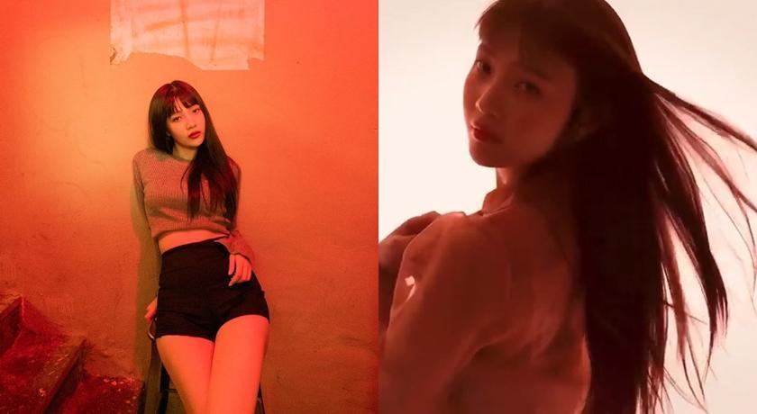 Red Velvet Joy 烏黑長髮搶代言...「透視薄紗」擋不住性感擔當!