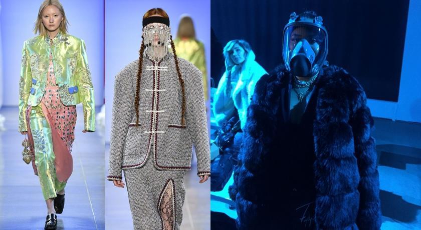 時裝週遇武肺全球慌!驚見觀眾戴「防毒面具」出席中國品牌秀
