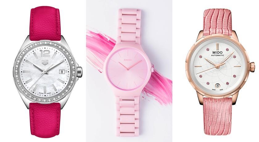 沒戴錶好像有點過時!來一只「粉紅色腕錶」女生限定可愛爆棚