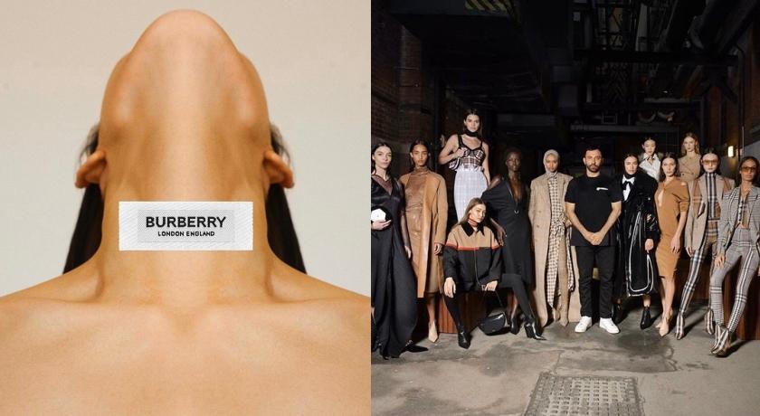 倫敦時裝週》超模Burberry秀場同台較勁!Kendall狂曬美背、Bella胸前藏心機