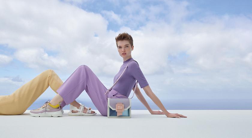 小CK春夏新品來了!超夢幻馬卡龍色、果凍鞋跟甜度爆表超吸睛