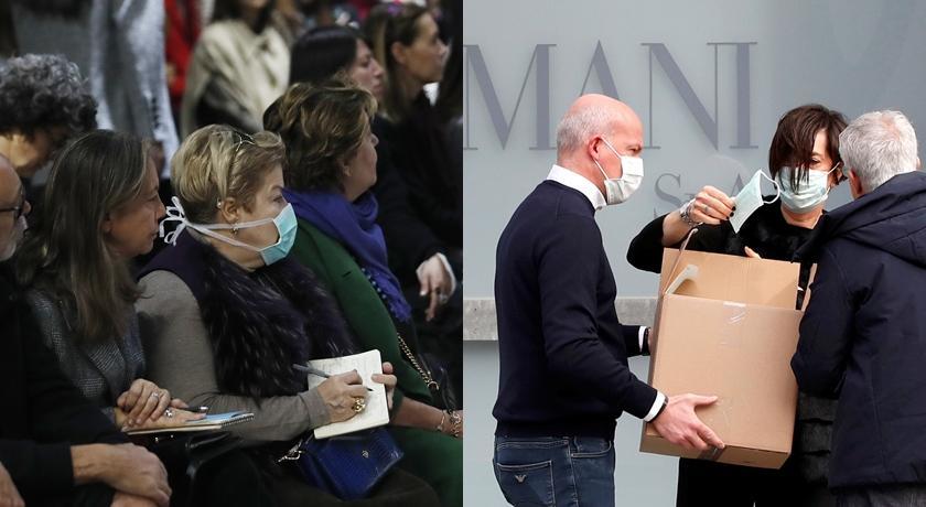 義大利疫情升溫!「米蘭封城」時裝週謝絕媒體、潮人全戴口罩