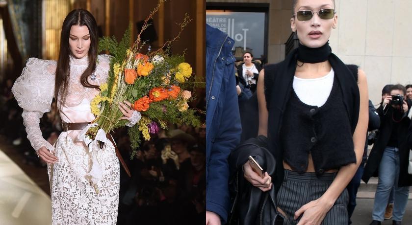 辣模Bella Hadid街拍比伸展台還狂!褲子「兩個大洞」網驚:跟沒穿一樣