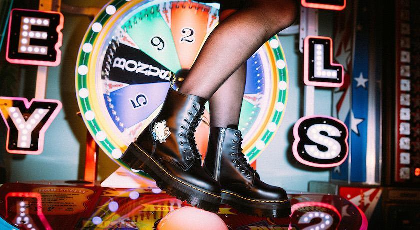 最萌聯名藏「心」機!Hello Kitty×馬汀鞋限量全系列本週開賣