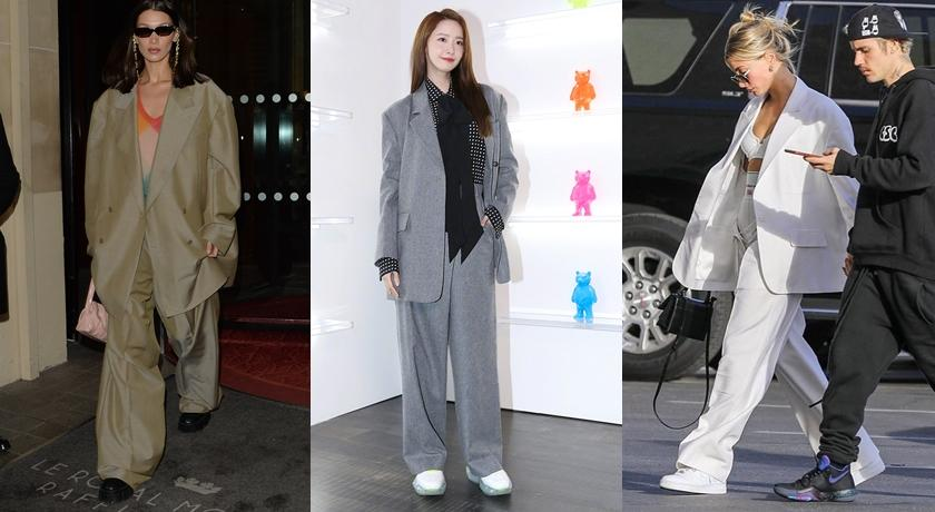 毫無女人味的寬鬆「布袋西裝」竟爆紅!潤娥、泫雅穿起來美翻