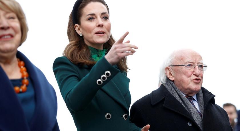 凱特王妃訪愛爾蘭「連穿兩套」綠洋裝!原因曝光後外媒全讚爆