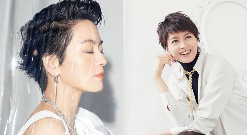 44歲梁詠琪「短髮油頭」登封!粉絲驚呼:和23年前一模一樣太誇張