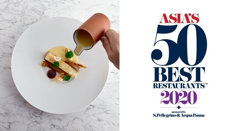台灣就佔了四席!2020「美食界奧斯卡」亞洲 50 最佳餐廳揭曉