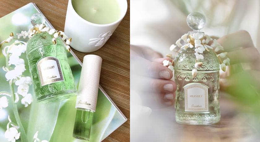 帶來幸運的鈴蘭香水衝破疫情大賣!「手工陶瓷花朵+24K金線」封印降臨