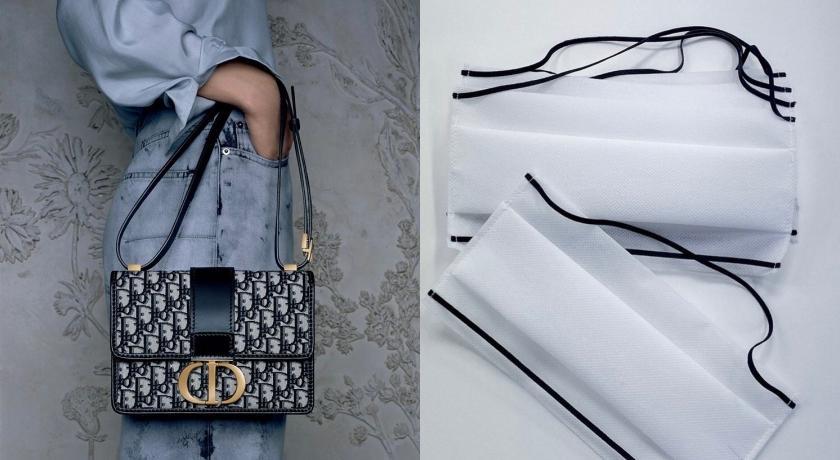 武漢肺炎》Dior洗手液之後再出力!重啟生產線投入口罩生產行列