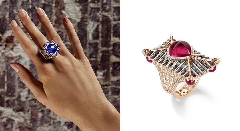 將戒指命名為乾隆、魏夫人!CHAUMET「清宮劇」珠寶超可愛