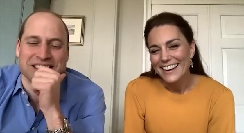 驚喜視訊訪問!凱特王妃「陽光色毛衣」溫柔燦笑慰問醫護前線孩童