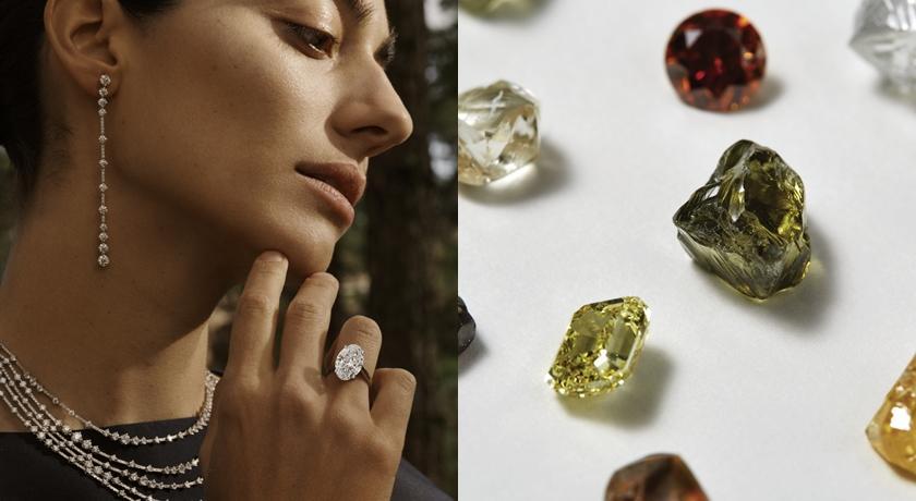 沒聽過「變色龍鑽石」?De Beers 珠寶展還有超罕見的無色鑽石
