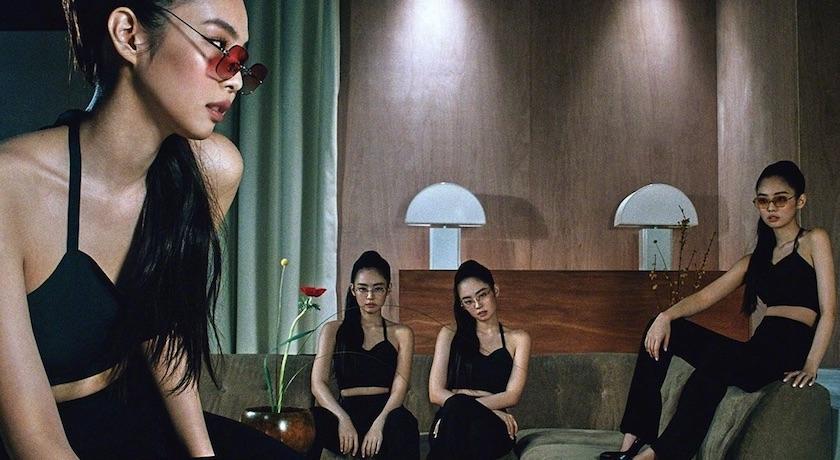 人間香奈兒Jennie悶在家玩壞了?火辣貼身連身裙竟搭「老奶奶眼鏡」