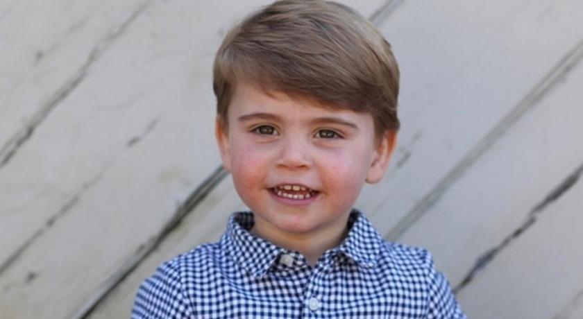 路易小王子兩歲了!英國皇室曝光「笑咪咪萌照」把粉絲全電暈