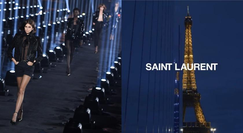 武漢肺炎》看不到「夜巴黎」了?Saint Laurent取消九月時裝秀