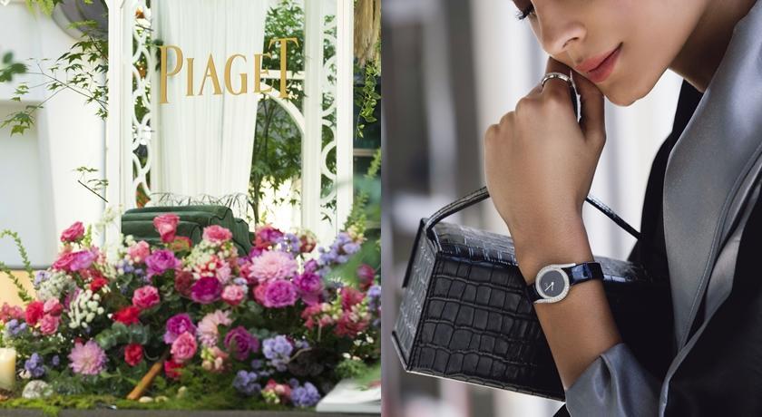 台北 101 四樓竟有座玫瑰花園!花叢間還藏著伯爵最新限量腕錶