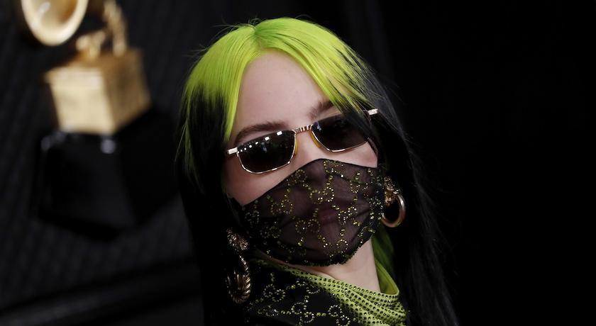 武漢肺炎》口罩時尚最佳代言人!怪奇比莉推公益口罩「我罩你」