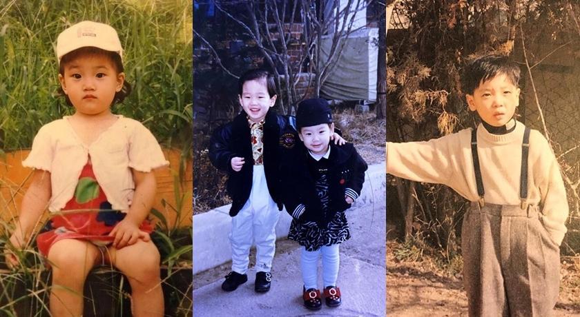 韓國兒童節明星齊曬童年照!子瑜、太妍超萌,孫藝珍差點認不出來