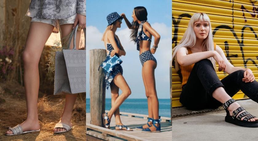 不只運動鞋可以搭!7款夏天必備超亮眼潮流感涼鞋