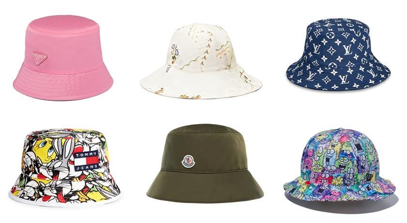 遮陽防雨還可以藏布丁頭!13 款春夏「漁夫帽」萌度立刻升級