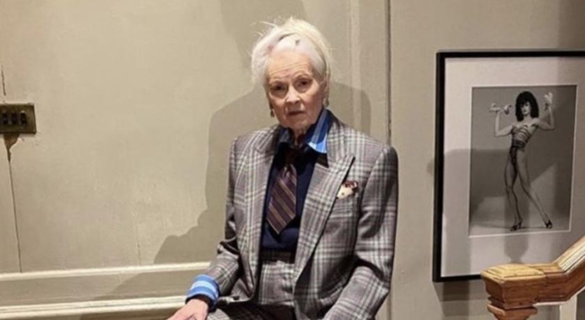好害羞!79 歲龐克教母「居家防疫」期間下半身竟然只有穿絲襪