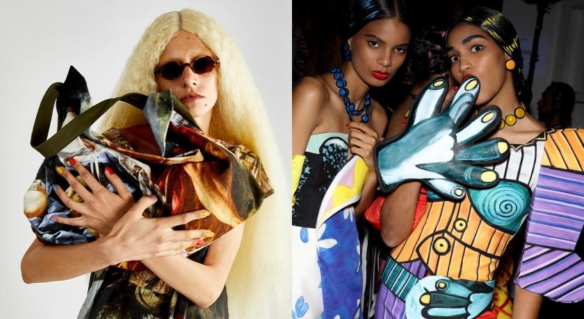 全身都是藝術!Vivienne Westwood、Moschino將「傳世名作」全拿手裡