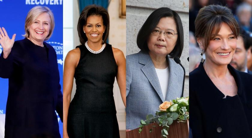 總統蔡英文、各國總理夫人妝容重點,強調「眼妝」值得職場女性借鑑!